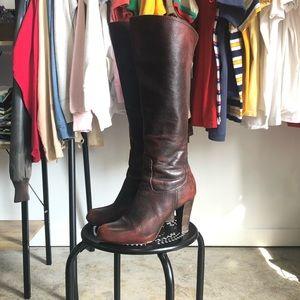 Frye Miranda Back Zip Boots